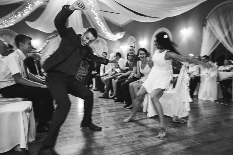 Szaleństwo zabawy na weselu