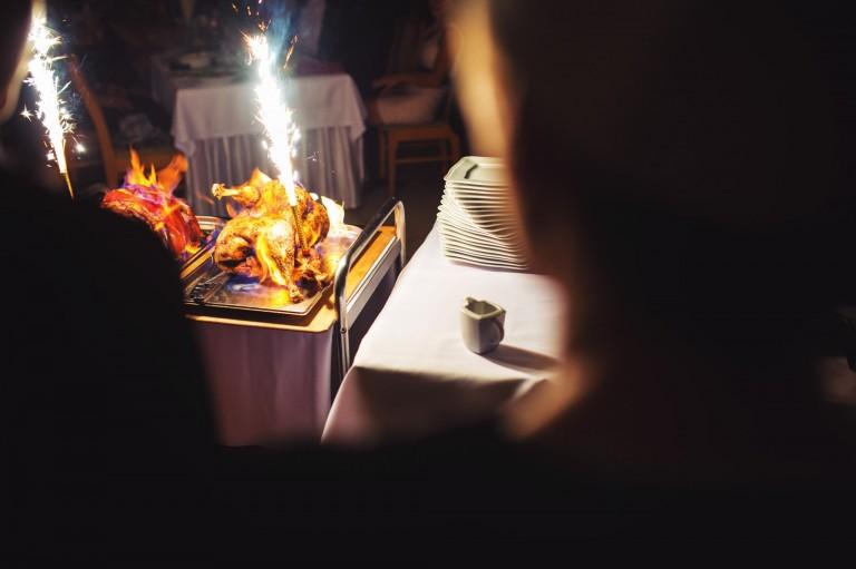 Ogień na weselu
