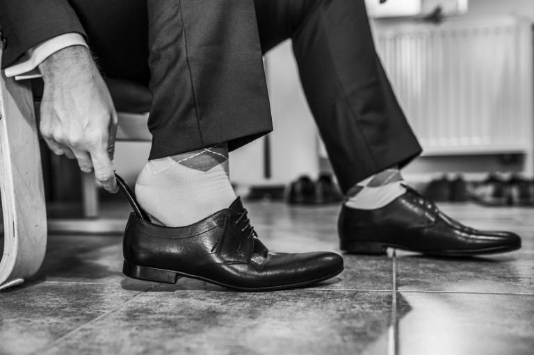 Zakładanie butów