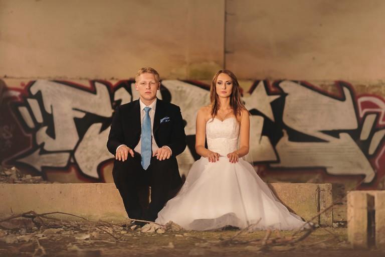 Malczyce plener ślubny