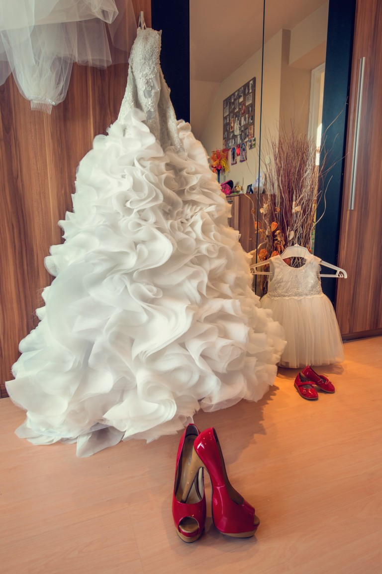 Suknia ślubna mamy i córki