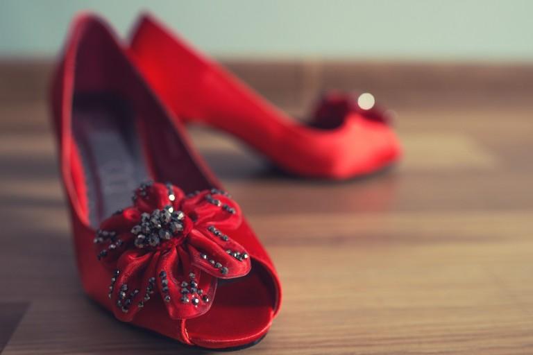 Czerwone buciki