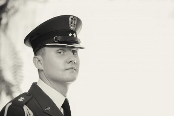 Portret Pana Młodego - żołnierza Wojska Polskiego