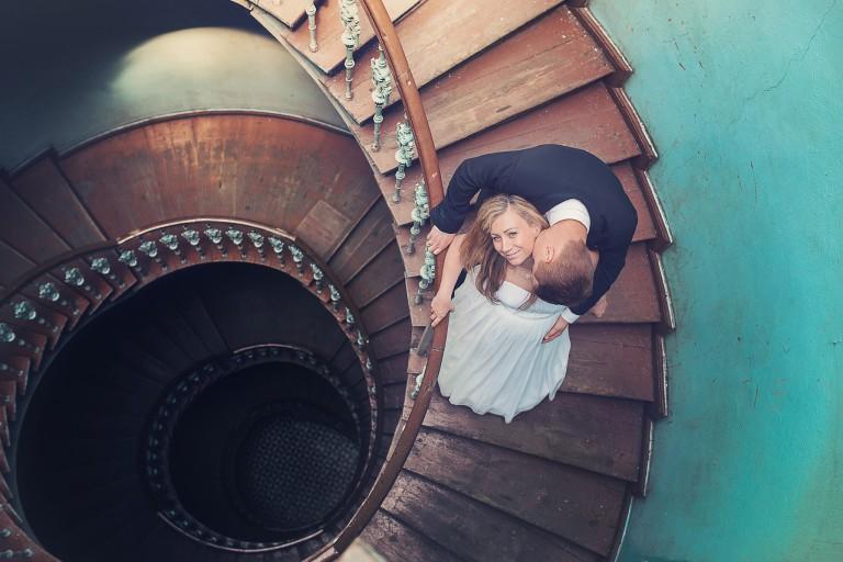 Zdjęcie plenerowe na schodach