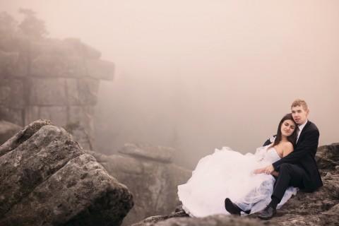 Plener ślubny w górach, Szczeliniec